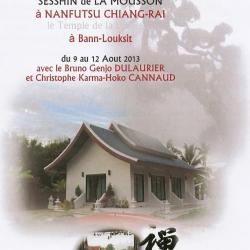 Sesshin Août Chiang-Rai 2013